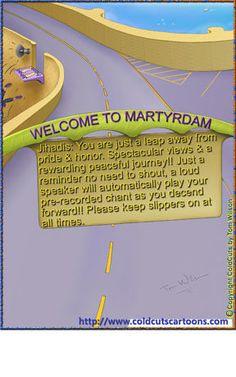 ColdCuts Cartoons Jihadis Martyrdam