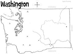 Map Of The Counties In Washington State You May Use The