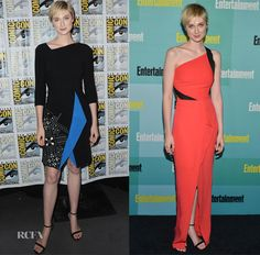 Elizabeth Debicki In Roland Mouret – 'The Man from U.N.C.L.E' Comic-Con Panel & Entertainment Weekly's Annual Comic-Con Party