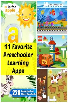 These 11 apps are favorites of my 3 year old. They are engaging, fun, and help him learn matching, memory, numbers, letters, and other skills. They are perfect for most 2-4 year olds. They are also helpful to keep them busy while waiting at a Dr.'s office, in the car, or when mom just needs to get a few things done around the house.