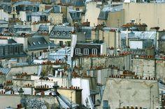 Roofs in Paris me out our window / Paris me vu de sa fenêtre Ladybug Pv, Paris Rooftops, Grand Paris, Green Houses, Terraces, City Life, Dream Vacations, Paris France, Paths