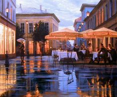 Pensive mood: Night cityscapes by a Russian artist Alexey Butyrsky - 35
