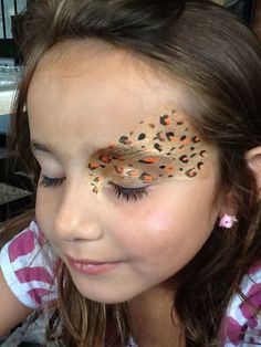 Cheetah, Hens Party, Face Paintings, Jungle, Body Painting, Facepaint Ideas, Themed Party, Face Painting Ideas, Birthday Party