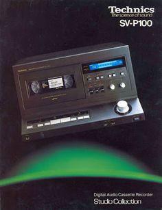 Technics SV-P100 Technics Hifi, Diy Turntable, Retro Advertising, Record Players, Hifi Audio, Digital Audio, Old Tv, Electronics Projects, Audio Equipment