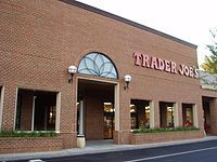 An example of a Trader Joe's storefront.