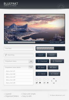 Free Bluepackt – Free web elements PSD UI kit - http://www.vectorarea.com/free-bluepackt-free-web-elements-psd-ui-kit