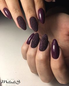 Make an original manicure for Valentine's Day - My Nails Halloween Acrylic Nails, Cute Acrylic Nails, Cute Nails, Perfect Nails, Gorgeous Nails, Nagellack Design, Round Nails, Pin On, Burgundy Nails