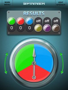 Data Analysis and Probability. CC: 7.SP.5. This is a spinner app for use in probability lessons. The number of colors on the spinner is adjustable up to six. This is a good way to incorporate twenty-first century skills into probability lessons. This targets visual learners, and those at the concrete level with this concept. All you need is an iPad or iPhone.