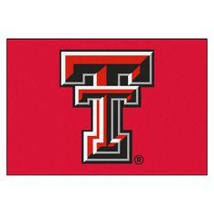 Texas Tech Red Raiders Starter Mat, Texas Tech University