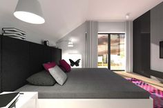 Best Bedroom Interior Design ~ http://www.lookmyhomes.com/20-best-home-interior-design-ideas-house-in-dabrowa-gornicza/