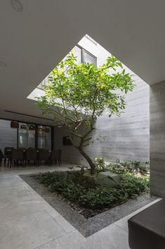 Interior garden 388224430381696331 - Gallery of D House / ARO Studio – 2 Source by Indoor Courtyard, Internal Courtyard, Courtyard House, Indoor Garden, Design Patio, Courtyard Design, Garden Design, Courtyard Ideas, Interior Garden