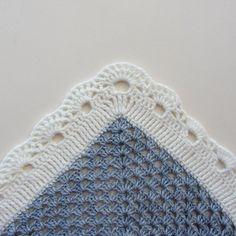 Kare Bebek Battaniyesi Yapılışı 10