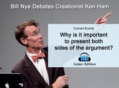 Creationism in schools? Evolution's evidence? Learn how the debate between science and creationism went this week: http://www.listenedition.com/2014/02/06/bill-nye-debates-creationist-ken-ham/
