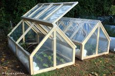 Bepa's Garden: Planning for Spring Planting - Cold Frames (mini-greenhouse)