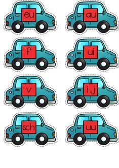 Spellenbundel Thema voertuigen Kinderboekenweek