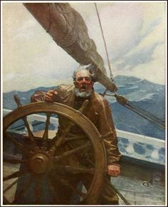N.C. Wyeth.Illustrations for Scribner's Magazine 1903-1917.