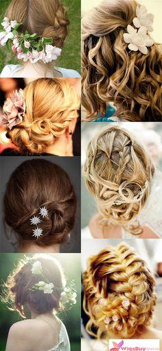 Amazing bride hairdos