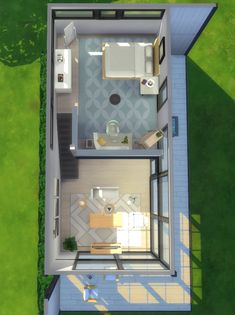 Lovely Loft - No CCI barely ever build from scratch, but I found a house on Pinterest I really liked and decided to try to replicate it. I actually like it enough to share it! • 1 bedroom, 1...