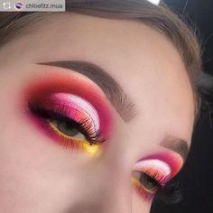 Eye Makeup Art, Glam Makeup, Skin Makeup, Eyeshadow Makeup, Makeup Inspo, Eyeliner, Makeup Ideas, Make Up Inspiration, Make Up Looks