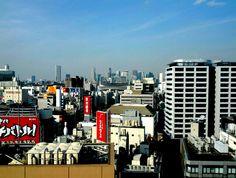 Buildings in Shibuya