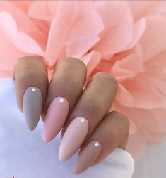 Modele unghii - The most beautiful nail designs Nude Nails, Nail Manicure, Pink Nails, Nail Polish, Classy Nails, Stylish Nails, Trendy Nails, Hair And Nails, My Nails
