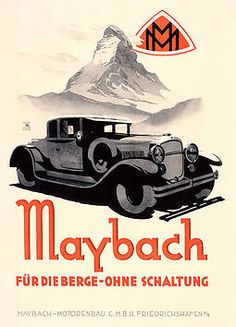 Maybach ad from the 20s