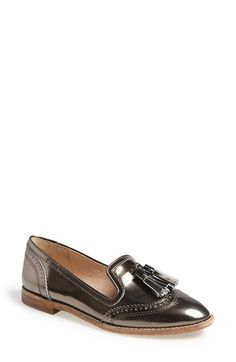 I have this: Louise et Cie 'Tassel' Loafer (Women) at Nordstrom.com. Tonal tassels add to the kicky old-school vibe of a lean leather loafer with matching wingtip trim.