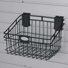 SUNCAST MB0812B Storage Basket,H 8 5/16,W 8,PK 4 by Suncast. $44.99. Storage Basket, Height 8 5/16 In, Width 8 In, Depth 12 In, Load Rating 40 Lb, Material Wire, Black, Rust Resistant Powder Coated Finish, Assembled, Includes 2 Mounting Clips, Package Quantity 4
