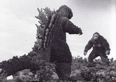 Godzilla has a real estate dispute with King Kong (1962)