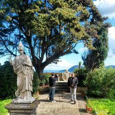 Villa dei Mulini garden, Napoleon's residence at Portoferraio, Elba island, foto di Stefano Luzzetti