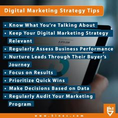 There is no doubt that #digitalmarketing is crucial when it comes to the #success of any #business no matter what industry you are in. Here are some Digital marketing strategy tips that you must know! Marketing Program, Digital Marketing Strategy, Business Performance, Prioritize, You Must, Things To Come, Success, Tips, Counseling