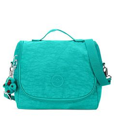 A bright lunchbag will have them eating healthier in no time! Kipling Lunch Bag, Sacs Kipling, Kipling Handbags, Aqua, Azul Tiffany, Ladies Who Lunch, Best Bags, Online Bags, Handbag Accessories