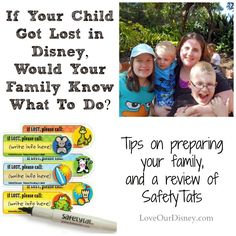 Love Our Disney: What If Your Child Were To Get Lost in Disney?