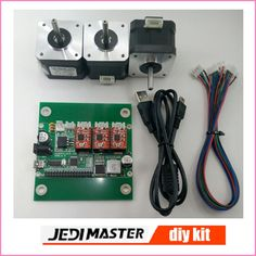 51.00$  Watch here - http://aliuul.shopchina.info/go.php?t=32616148783 - Diy 3-axis cnc machine parts,laser engraver control board,GRBL control board+3 pieces step motor,Pvc Mill Engraver parts  #shopstyle