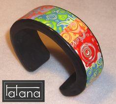 Tatana polimerica fimo polymer clay joyeria jewelry spain españa - Pulseras - Bracelets