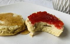 These biscuits still have plenty of buttery flavor, they are flakey, and they just taste so good. I prefer a sweet breakfast and so I have been eating two for breakfast with some almond butter and honey. It is an amazing combo that is not too sweet first thing in the morning. This recipe will make you feel like your eating a classic biscuit, but you can feel great about what you and your family are eating for breakfast or at lunch/dinner. Flakey Biscuits, Sweet Potato Biscuits, Biscuits And Gravy, Mashed Sweet Potatoes, Savory Breakfast, Sweet Breakfast, Japanese Sweet Potato, Great Recipes, Healthy Recipes