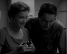 Janeway and Chakotay - the best of friends :)