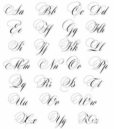 Modern Calligraphy Alphabet, Calligraphy Quotes Doodles, Pencil Calligraphy, Calligraphy Tutorial, Copperplate Calligraphy, Hand Lettering Tutorial, Hand Lettering For Beginners, Calligraphy For Beginners, Tattoo Fonts Cursive