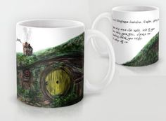New to RandomOasis on Etsy: Mug Fellowship of the Ring Dangerous Business Quote - Coffee or Tea (30.00 USD)