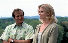 Robin Williams and Monica Potter in Patch Adams (1998)