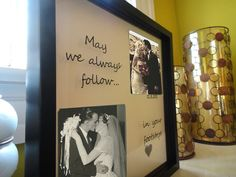 Parents Anniversary Gift, Wedding Gift for Parents, Personalized Frame, Custom Shadow Box Frame