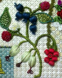 Kelly Clark Needlepoint Handbook: Kelly's New Sampler, Stumpwork, naturally!