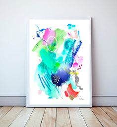 He encontrado este interesante anuncio de Etsy en https://www.etsy.com/es/listing/501178817/abstract-painting-wall-art-watercolor