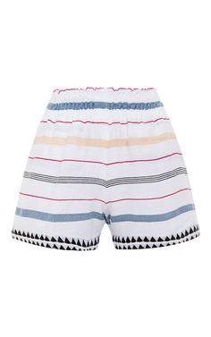 Lelaga Striped Shorts by Lemlem Now Available on Moda Operandi