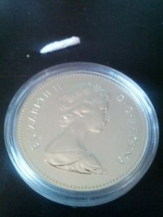 Canadian proof silver coin collectible by DrewsCollectibles, $21.00