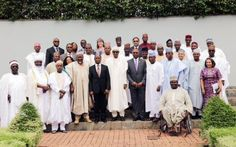 Pictures from the swearing in ceremony of new SGF, NSA and Adesina - http://www.nollywoodfreaks.com/pictures-from-the-swearing-in-ceremony-of-new-sgf-nsa-and-adesina/