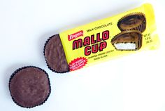 If you've never had a Mallo Cup, you're missing out.  We always collected the point cards inside each bar until we reached 500.  I forget now what you won when you sent them in.