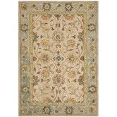 Found it at Wayfair - Anatolia Ivory/Blue Area Rug