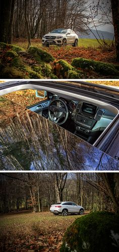 The trailblazer for a versatile vehicle class: the Mercedes-Benz GLE Coupé. Photos by Rafael Weinberger. #MBsocialcar