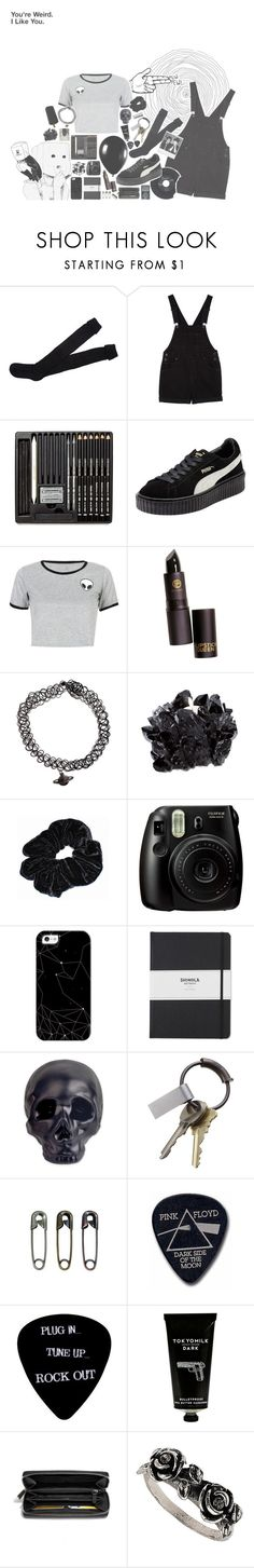 You're wierd. I like you. by live-in-venus on Polyvore featuring WithChic, Monki, Puma, Coach, Topshop, Casetify, Shinola, TokyoMilk, Kikkerland and McCoy Design